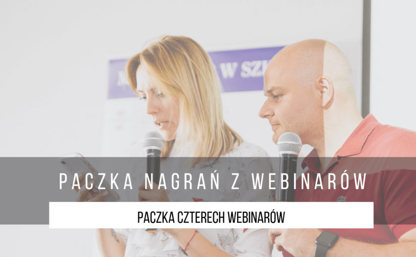 cztery webinary z marketingu